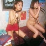 酔った女達が全裸でカラオケを歌うとこうなります【画像あり】