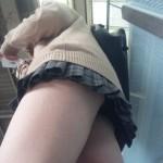 ピッチピチでムチムチ美肌のエロ過ぎる女子高生の太ももやパンチラを堪能できるエロ画像