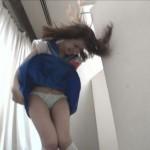 【朗報】強風でスカートが捲れて見えたパンチラを人工的に再現してみた!!!!!(画像あり)