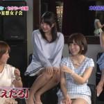 テレビで見る激カワAV女優の佐倉絆ちゃんのパンチラがエロ過ぎて抜けるwwwwwww