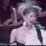 ※若き日の篠原涼子※アイドル時代に乳首ポロリしちゃった伝説のコンサート
