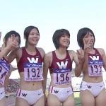 陸上女子JKの生脚太ももや股間、お尻がエロすぎる件wwwwww(画像あり)
