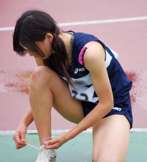 女子陸上選手(10代小娘)がオナネタにされるのは仕方がねえことだわwwwwwwwwwwww(写真あり)